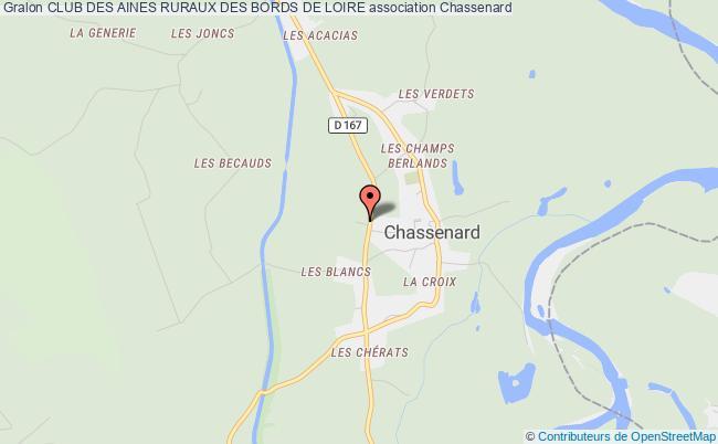 plan association Club Des Aines Ruraux Des Bords De Loire