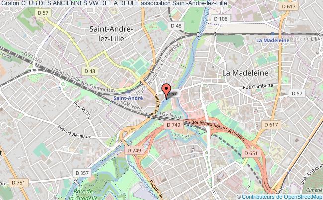 plan association Club Des Anciennes Vw De La Deule