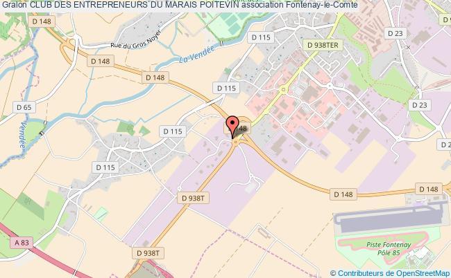 plan association Club Des Entrepreneurs Du Marais Poitevin