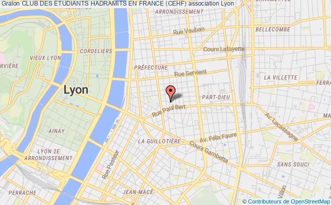 plan association Club Des Étudiants Hadramits En France (cehf)