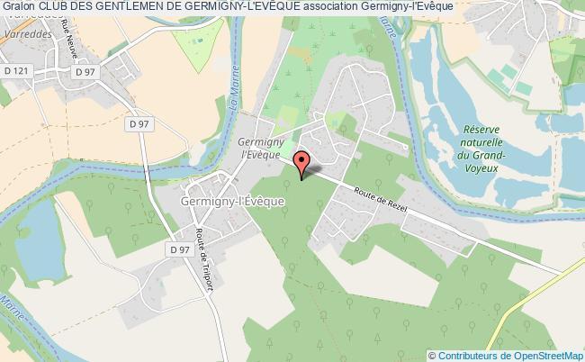 plan association Club Des Gentlemen De Germigny-l'evÊque Germigny-l'Évêque
