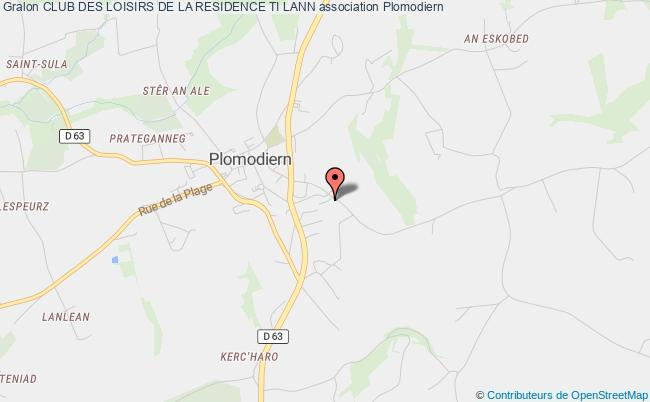 plan association Club Des Loisirs De La Residence Ti Lann