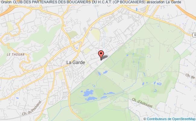 plan association Club Des Partenaires Des Boucaniers Du H.c.a.t. (cp Boucaniers)