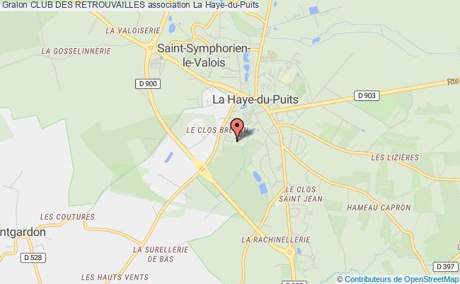 plan association Club Des Retrouvailles Saint-Symphorien-le-Valois