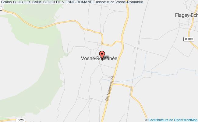 plan association Club Des Sans Souci De Vosne-romanee