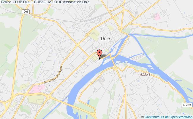 plan association Club Dole Subaquatique Dole