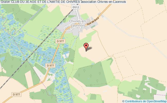 plan association Club Du 3e Age Et De L'amitie De Chivres