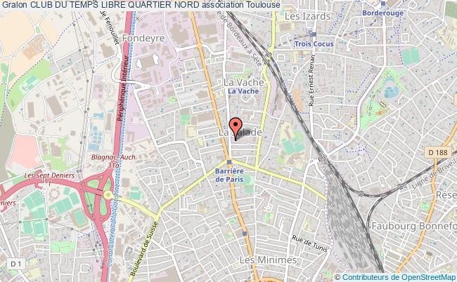 Club du temps libre quartier nord association Seniors Toulouse