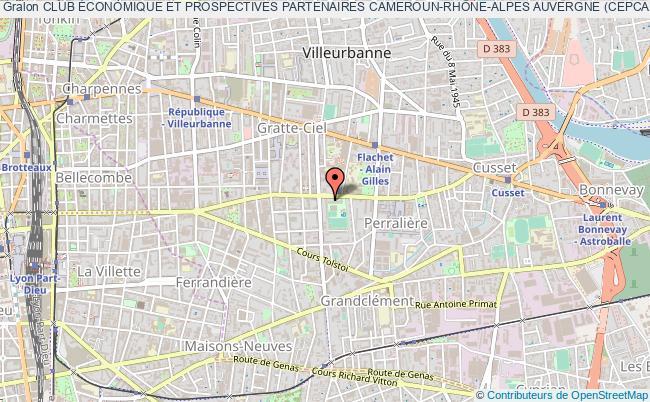 plan association Club Économique Et Prospectives Partenaires Cameroun-rhÔne-alpes Auvergne (cepcar)