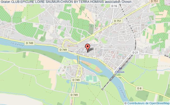 plan association Club Epicure Loire Saumur-chinon By Terra Hominis Chinon