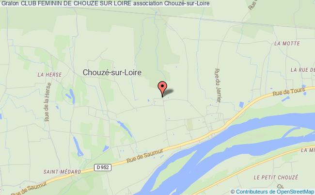 plan association Club Feminin De Chouze Sur Loire