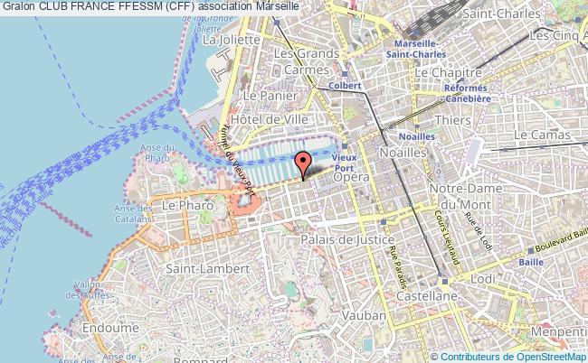 plan association Club France Ffessm (cff)