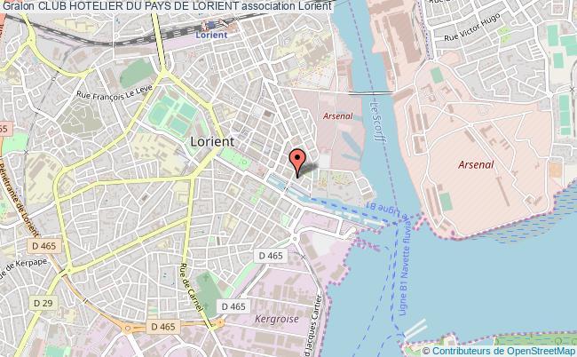 plan association Club Hotelier Du Pays De Lorient