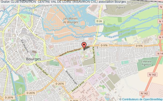 plan association Club Insaviron  Centre Val De Loire (insaviron Cvl) Bourges