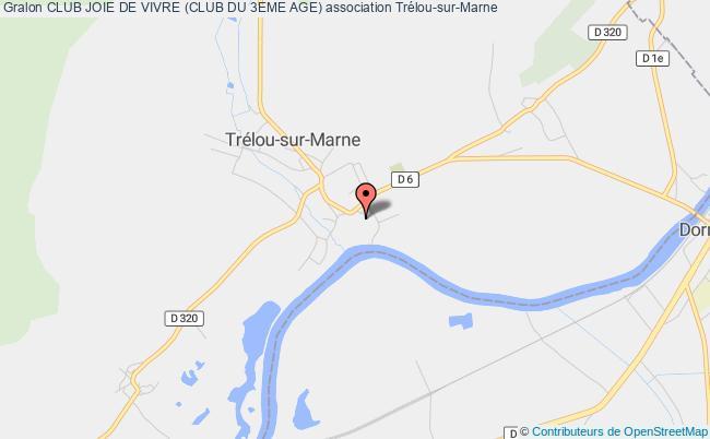 plan association Club Joie De Vivre (club Du 3eme Age) TRELOU-SUR-MARNE