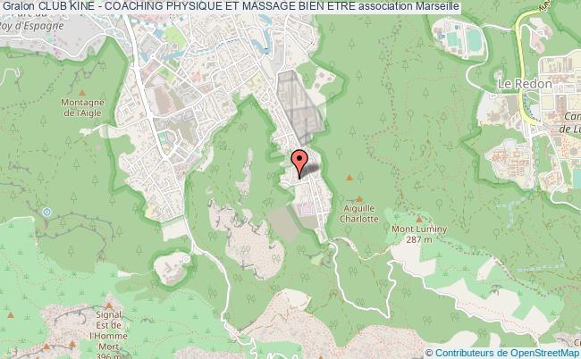 plan association Club Kine - Coaching Physique Et Massage Bien Etre