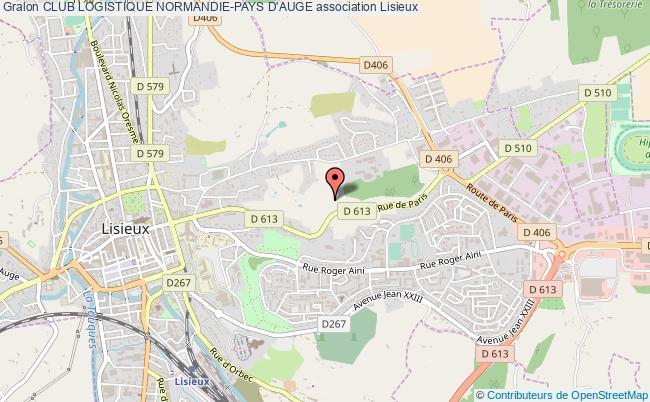 plan association Club Logistique Normandie-pays D'auge