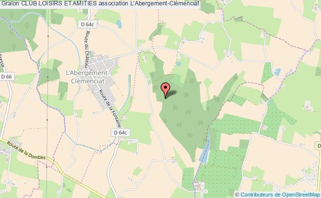 plan association Club Loisirs Et Amities L'   Abergement-Clémenciat