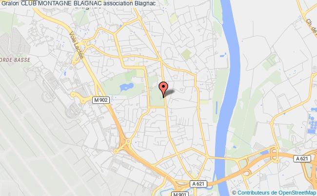 plan association Club Montagne Blagnac