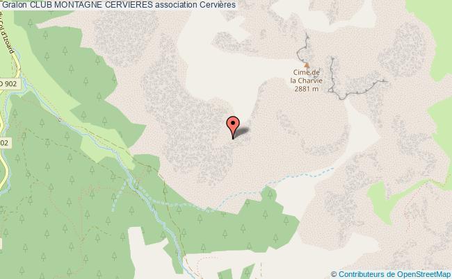 plan association Club Montagne Cervieres