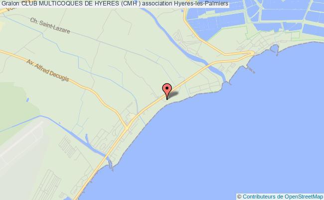 plan association Club Multicoques De Hyeres (cmh )