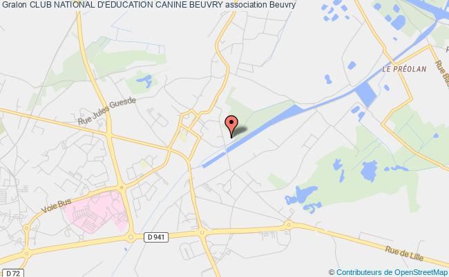 plan association Club National D'education Canine Beuvry