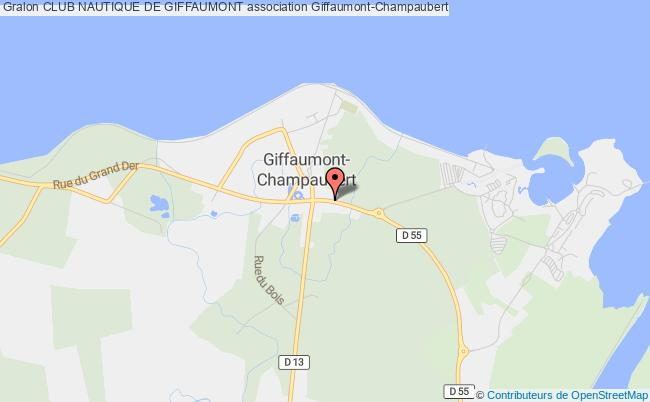 plan association Club Nautique De Giffaumont