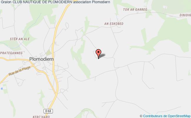 plan association Club Nautique De Plomodiern