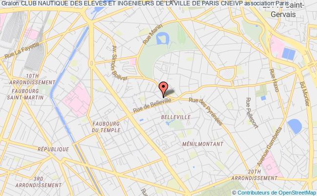 plan association Club Nautique Des Eleves Et Ingenieurs De La Ville De Paris Cneivp