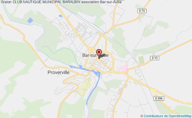 plan association Club Nautique Municipal Baralbin