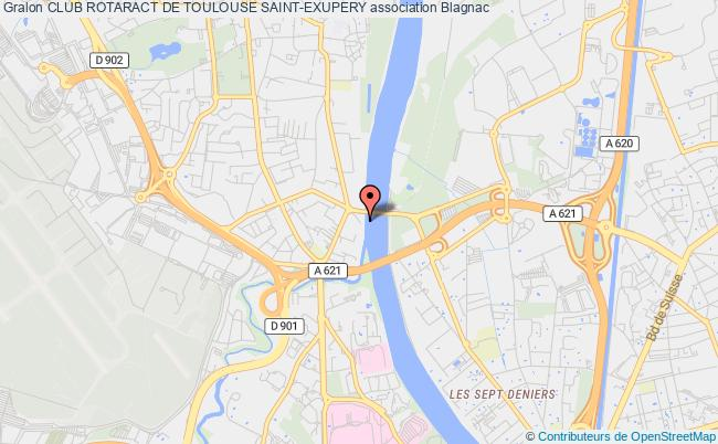 plan association Club Rotaract De Toulouse Saint-exupery