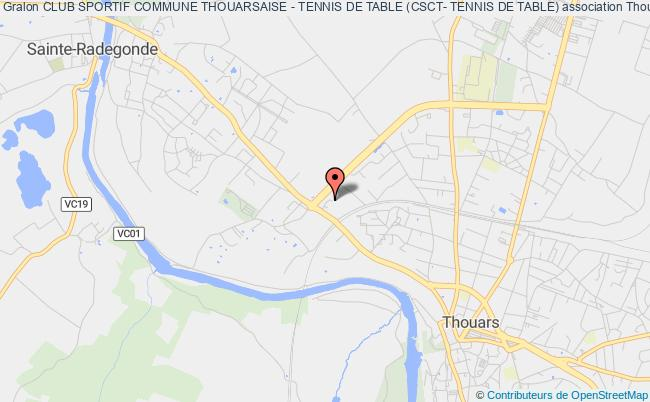 CLUB SPORTIF COMMUNE THOUARSAISE - TENNIS DE TABLE (CSCT- TENNIS DE TABLE)