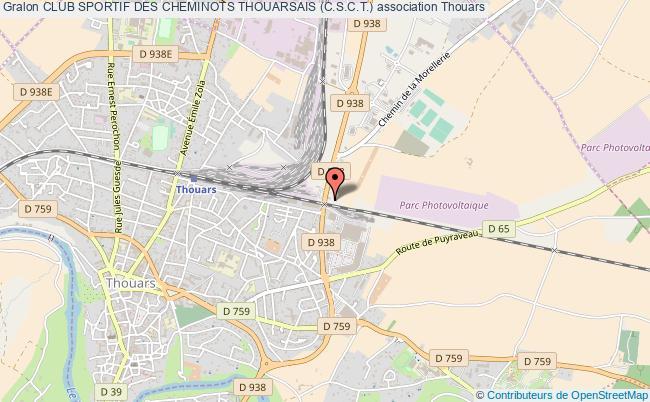 plan association Club Sportif Des Cheminots Thouarsais (c.s.c.t.)