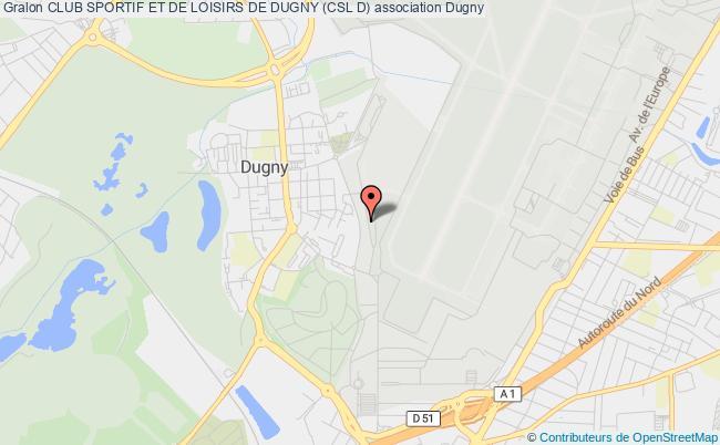 plan association Club Sportif Et De Loisirs De Dugny (csl D)
