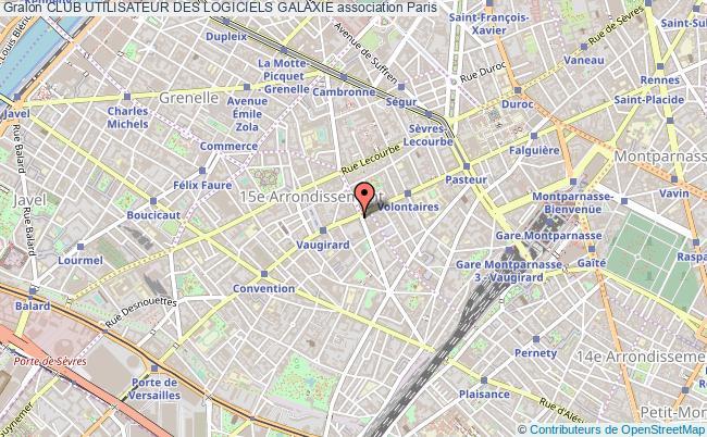 plan association Club Utilisateur Des Logiciels Galaxie