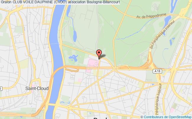 plan association Club Voile Dauphine (cvdo) Pecq