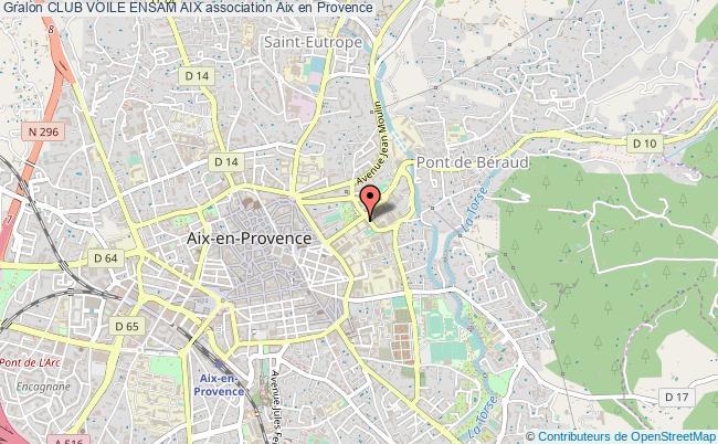 plan association Club Voile Ensam Aix