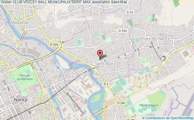 plan association Club Volley Ball Municipaux Saint Max