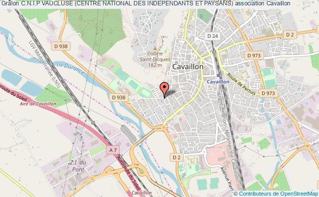 plan association C.n.i.p Vaucluse (centre National Des Independants Et Paysans)