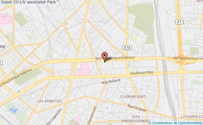 plan association Co-liv Lab Paris