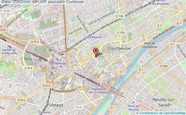 plan association Coaching Implant Courbevoie