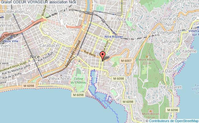 plan association Coeur Voyageur Nice