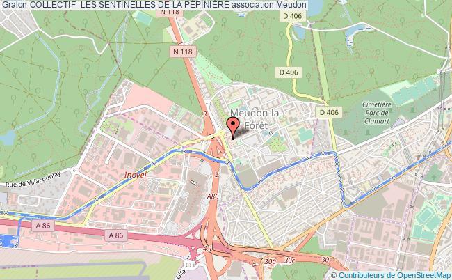 plan association Collectif  Les Sentinelles De La PÉpiniÈre