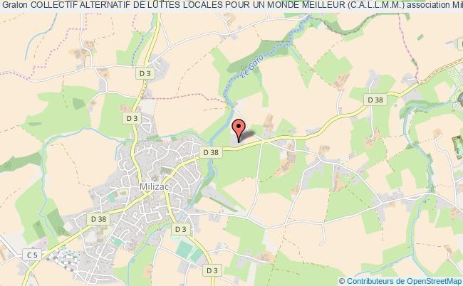 plan association Collectif Alternatif De Luttes Locales Pour Un Monde Meilleur (c.a.l.l.m.m.)