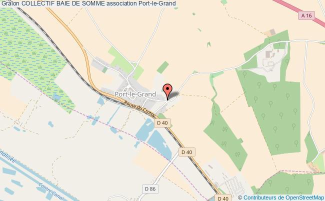 plan association Collectif Baie De Somme
