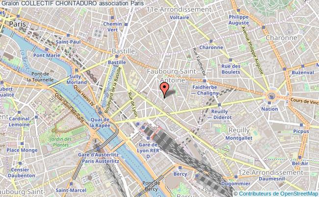 plan association Collectif Chontaduro Paris