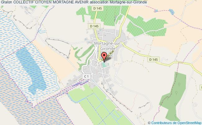 plan association Collectif Citoyen Mortagne Avenir Mortagne-sur-Gironde