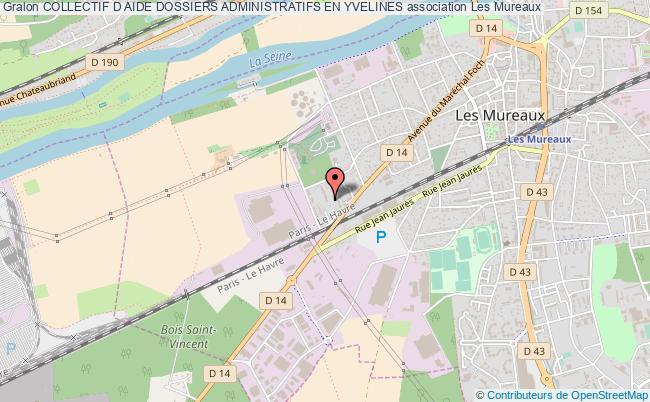 plan association Collectif D Aide Dossiers Administratifs En Yvelines Les   Mureaux