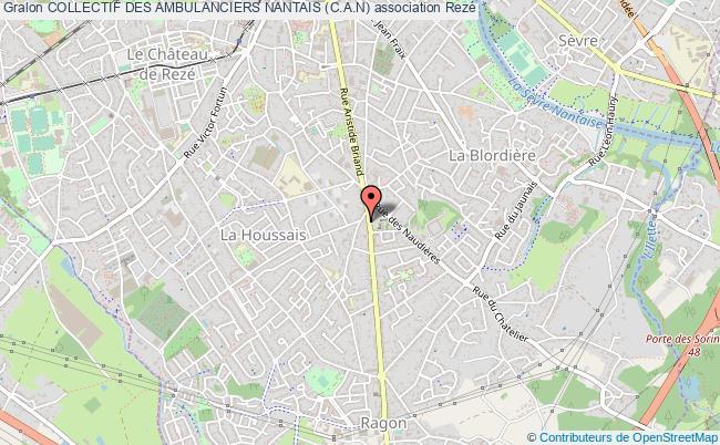 plan association Collectif Des Ambulanciers Nantais (c.a.n)