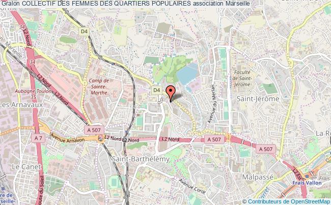 plan association Collectif Des Femmes Des Quartiers Populaires